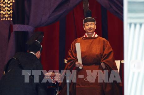 Nhật Bản cử hành lễ đăng quang của Nhật Hoàng Naruhito
