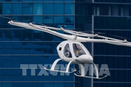 Volocopter thử nghiệm thành công taxi bay tại Singapore