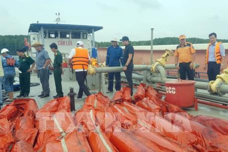 Đánh giá việc khắc phục sự cố tràn dầu tài vận tải Vietsun Ingrity