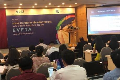 Ngành tài chính và viễn thông trước cơ hội, thách thức từ Hiệp định EVFTA