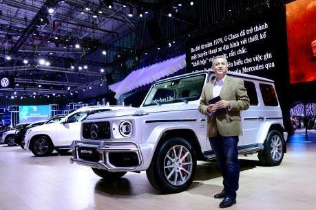 """""""Siêu phẩm"""" G 63, tâm điểm của gian hàng Mercedes-Benz tại VMS 2019"""
