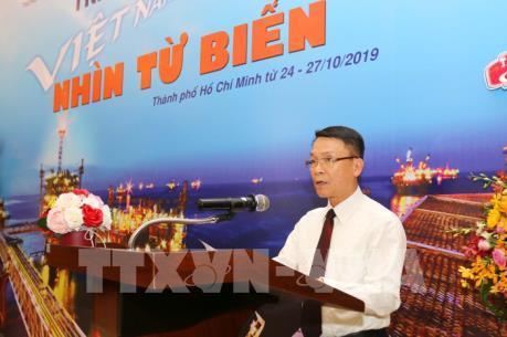 """TTXVN và Liên doanh Vietsovpetro tổ chức triển lãm ảnh """"Việt Nam - Nhìn từ biển"""""""