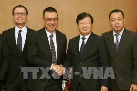 Phó Thủ tướng Trịnh Đình Dũng tiếp Tổng Giám đốc Tập đoàn SCG (Thái Lan)