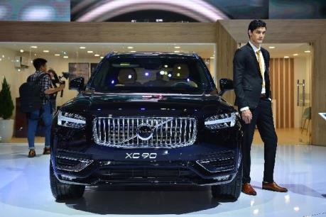 Volvo XC90 2020 ra mắt Triển lãm Ô tô Việt Nam có giá 3,99 tỷ đồng