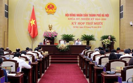 HĐND thành phố Hà Nội quyết nghị về đầu tư vốn ngân sách và dự án đầu tư công
