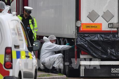 Vụ 39 người chết ở Anh: Đại sứ quán Việt Nam làm việc với cảnh sát, chính quyền hạt Essex