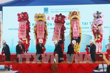 Khởi công dự án Kho chứa 1 triệu tấn LNG Thị Vải