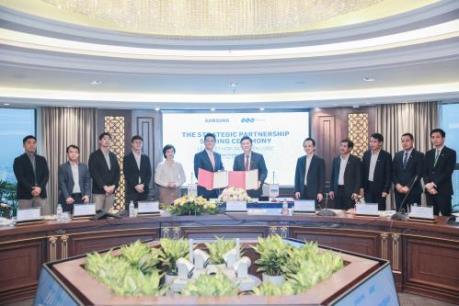 Tập đoàn FLC và Samsung hợp tác chiến lược phát triển toàn diện