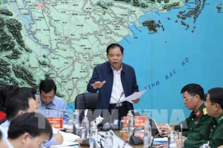 Bộ trưởng Nguyễn Xuân Cường: Ứng phó với áp thấp nhiệt đới có khả năng thành bão