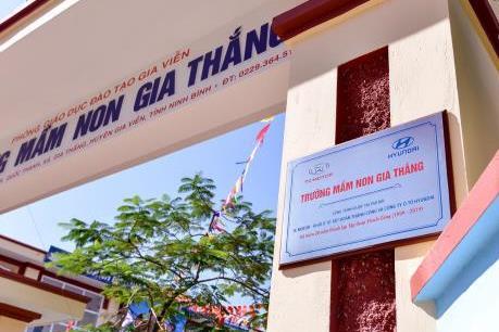 TC MOTOR khánh thành công trình Trường Mầm non Gia Thắng (Ninh Bình)
