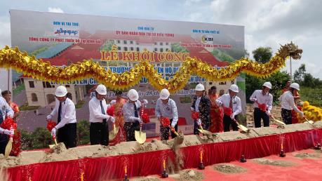 KBC tài trợ 90 tỷ đồng xây dựng trường học