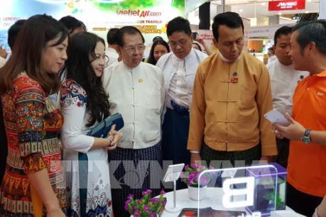 """Triển lãm """"Thương hiệu Việt Nam tại Myanmar"""""""