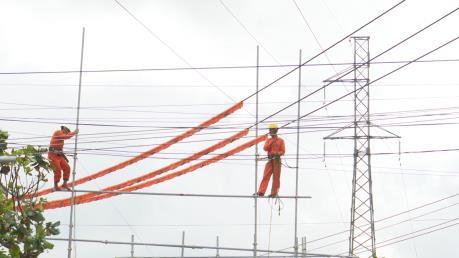 Nâng tải đường dây 110 kV Đăk Hà - Đăk Tô