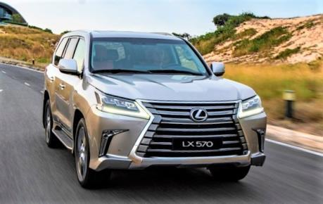 Lexus LX 570 phiên bản 2020 về Việt Nam chốt giá 8,340 tỷ đồng