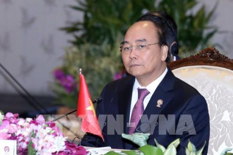 Thủ tướng Nguyễn Xuân Phúc tham dự Hội nghị Cấp cao Mê Công- Hàn Quốc lần thứ nhất