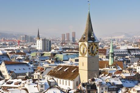 Vẻ đẹp Thụy Sĩ khi đông về