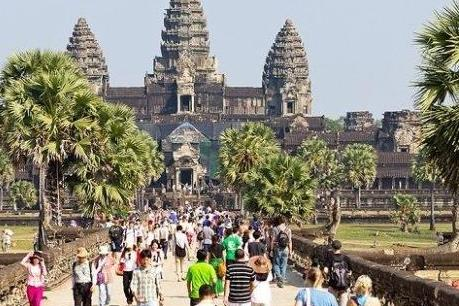 Lượng du khách quốc tế đến Campuchia tăng mạnh