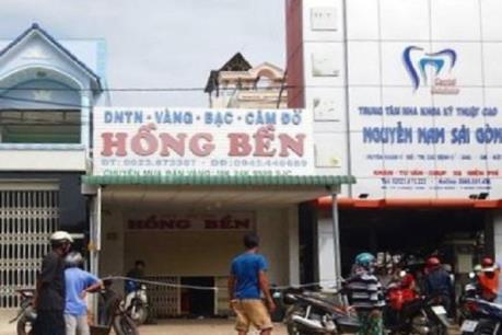 Bình Thuận: Điều tra vụ báo mất trộm 200 cây vàng
