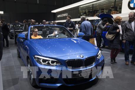Doanh số bán ô tô của Đức tăng trở lại
