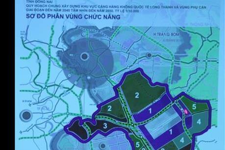 Hoàn thành giải phóng mặt bằng sân bay Long Thành trong năm 2020
