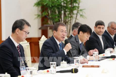 Tổng thống Hàn Quốc ca ngợi quan hệ Việt Nam - Hàn Quốc