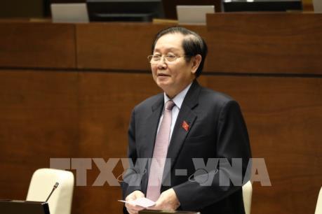 Kỳ họp thứ 8, Quốc hội khóa XIV: Bộ trưởng Nội vụ nhận trách nhiệm trong quản lý ngành
