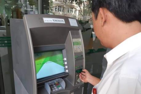 Hàng loạt máy ATM Vietcombank báo lỗi không thể giao dịch