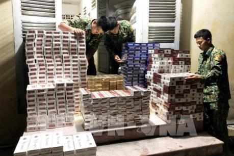 An Giang: Thu giữ 5.700 gói thuốc lá điếu nhập lậu