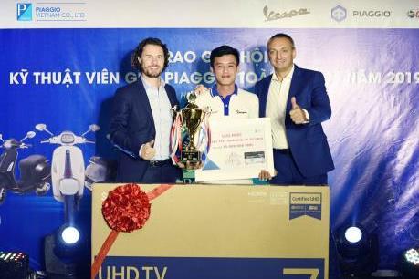 Piaggio Việt Nam tổ chức Hội thi Kỹ thuật viên giỏi toàn quốc 2019