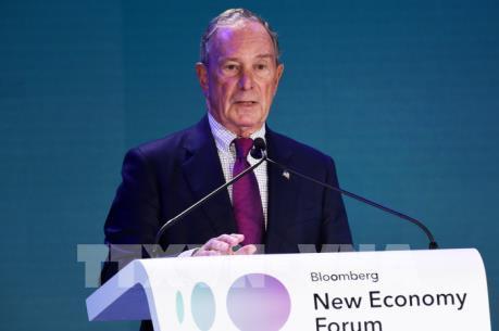 Tỷ phú Bloomberg tham gia tranh cử Tổng thống