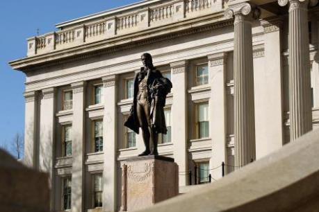 """Mỹ: Nợ quốc gia đang ở tình trạng """"báo động đỏ"""""""