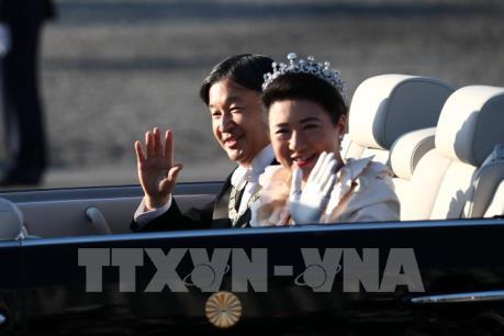 Lễ diễu hành sau đăng quang của Nhật hoàng Naruhito