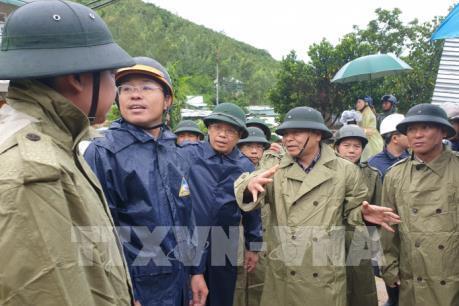 Bão số 6 cách bờ biển các tỉnh từ Bình Định đến Khánh Hoà 170 km