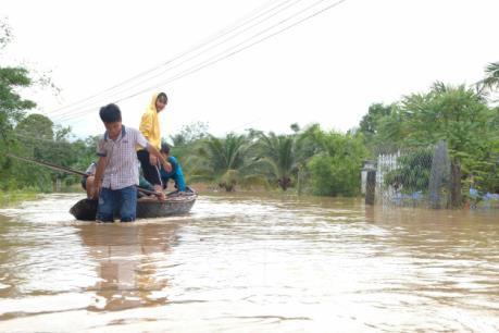 Hơn 300 ngôi nhà ở Đắk Lắk bị ngập do ảnh hưởng bão số 6