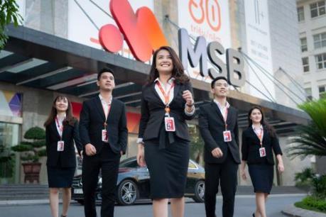 MSB lọt top 30 ngân hàng tốt nhất khu vực châu Á - Thái Bình Dương