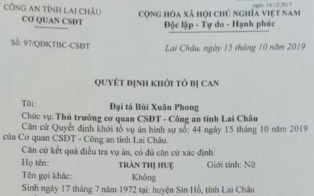 Lai Châu: Mở rộng điều tra vụ 2 cán bộ giáo dục tham ô 26,5 tỷ đồng