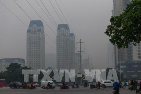 Thủ đô Hà Nội tái diễn tình trạng ô nhiễm không khí ở mức nguy hại