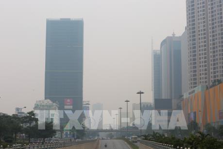 Trên 90 điểm quan trắc không khí tại miền Bắc ở ngưỡng có hại cho sức khỏe