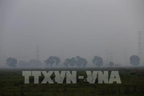 Hai ngày cuối tuần, bụi mịn ở Hà Nội ở ngưỡng có hại cho sức khỏe
