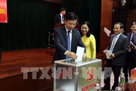 Đồng chí Phạm Xuân Thăng được bầu giữ chức Phó Bí thư Thường trực tỉnh Hải Dương