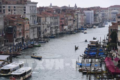 """""""Thành phố tình yêu"""" Venice có thể """"chìm"""" trong nước lũ"""