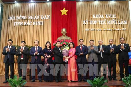 Bắc Ninh bầu Chủ tịch HĐND và Chủ tịch UBND tỉnh