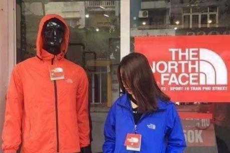 Thương hiệu The North Face hiện chưa có nhà phân phối chính hãng tại Việt Nam