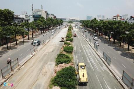 Hà Nội điều chỉnh lộ trình nhiều tuyến buýt để thi công đường đua F1
