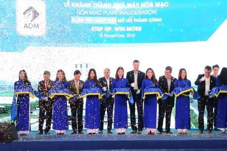 Tập đoàn ADM khánh thành nhà máy thức ăn chăn nuôi thứ 5 tại Việt Nam