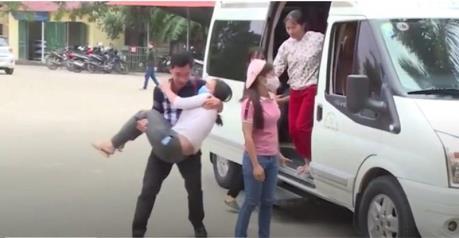 Vĩnh Phúc: Công nhân Công ty Lợi Tín nhập viện do ngạt khí