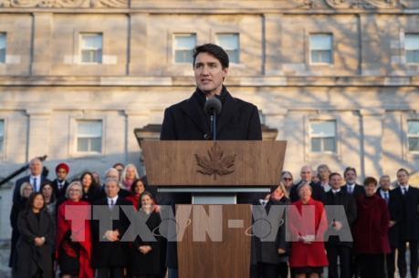 Canada công bố nội các mới
