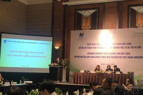 Dự báo, giai đoạn 2021-2025, GDP của Việt Nam sẽ tăng trưởng 7%