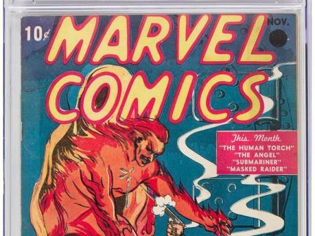 Cuốn truyện tranh đầu tiên của Marvel đạt kỷ lục đấu giá