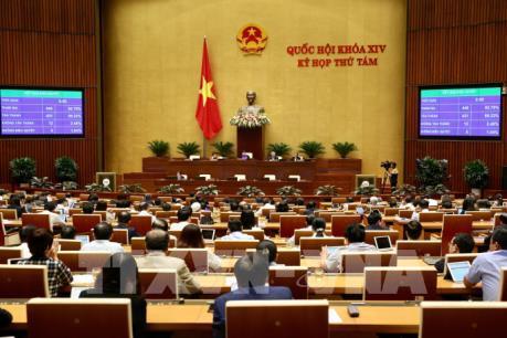 Kỳ họp thứ 8, Quốc hội khóa XIV: Tiến hành công tác nhân sự